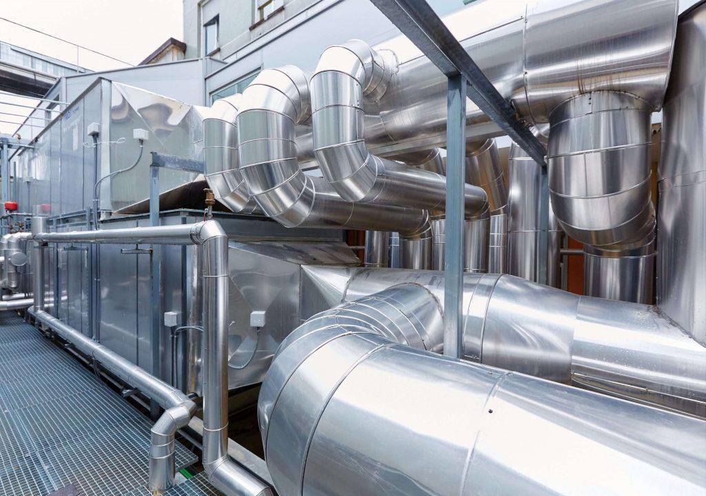 Монтажу систем промышленной вентиляции в Красногорске